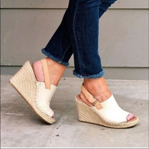 Toms Monica espadrille wedged size 6